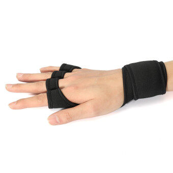 L Fitness Gloves Weight Lifting Gym Workout Sport Exercise Training Wrist Wrap