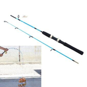 New 1.2M Portable Fiber Reinforce Plastic Lure Rod TelescopicFishing Pole