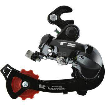 New Shimano Tourney RD-TZ50 Bike Rear Derailleur GS 7/6-speed withHanger