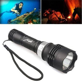 TLY-34 T6 LED Diving Flashlight Torch Scuba Light Lamp Waterproof