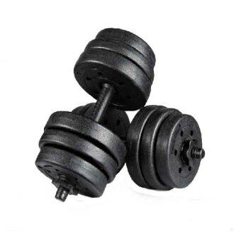 Top Grade Bumper Plate Rubber Dumbbell 20kg /pair Barbell
