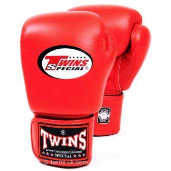 Twins Special Training Boxing Muay Thai Tinju Gym Sarung Tangan Glove Size:10oz