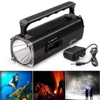 U`King Diving Flashlight 1200 Lumen XM-L2 LED ,Professional Bright LED Submarine Light Scuba Safety Lights Waterproof Underwater Torch for Outdoor Under water Sports (Black)