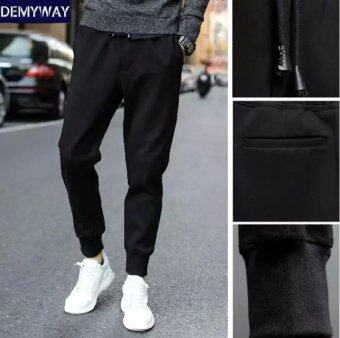 12 big kid men's thin spring casual pants athletic pants (Regular leather cord)