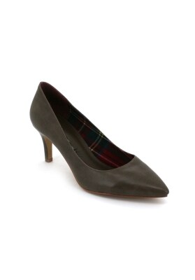 Bata Women - Pointy Heels With Lining Details (Brown)