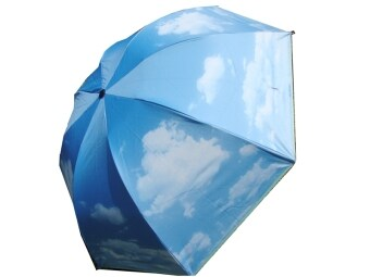 Blue Sky white clouds vinyl umbrella (More than 70 of the) (More than 70 of the)