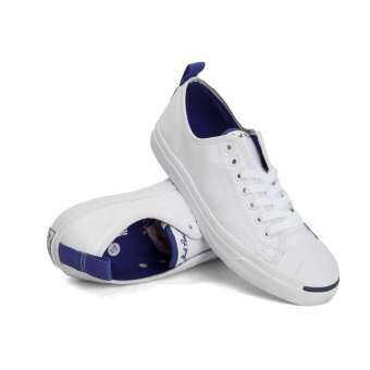 ☃ Solution CONVERSE Jack Purcell Leather Ox 155722C Men (White True ... 5c8b8263c