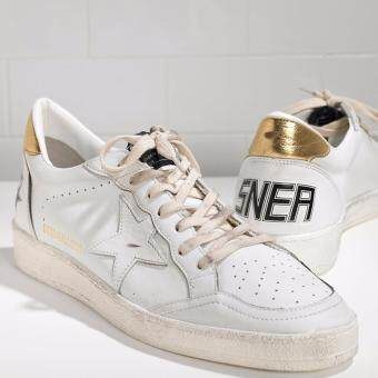 419a0f7bc47a Golden Gose Deluxe Brand Jewelry Windbreaker in Leather Leather G29MS592G11  Mens Sneakers