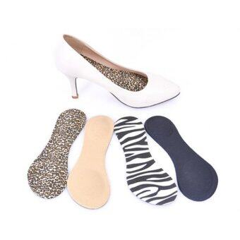 Heel Foot Cushion/Pad 3/4 Insole Shoe pad For Women Orthotic ArchSupport FMAQ Leopard Grain