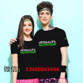 Herbalife short sleeved quick-drying T-shirt team clothes