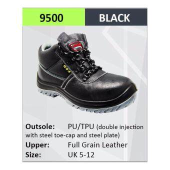 Hercules ESD Safety Shoes Cow Leather Safety Boot Sizes5-12 9500