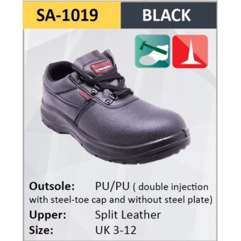 Hercules Safety Shoes Safety Boot Cow Leather Sizes 3-12 1019