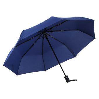 High Quality Anti-uv Fully Automatically Folding Umbrella #DarkBlue