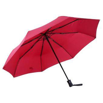 High Quality Anti-uv Fully Automatically Folding Umbrella #Red