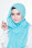 Hijab Fesyen Mumtaz Long Shawl Lake Blue