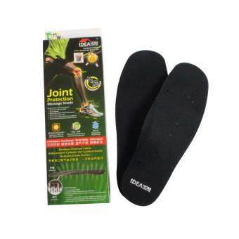 Ideahom Air Cushion Charcoal Bamboo Shoe Insole (Female x2pair)