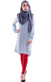 JF Fashion Kate Tunic Blouse M377 (Blue)
