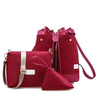 jingpinpiju nylon 3in1 bags set red lazada malaysia. Black Bedroom Furniture Sets. Home Design Ideas