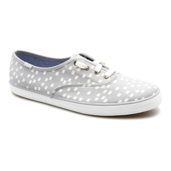 KEDS WOMEN WF55616 CH RETRO GEO GREY SNEAKERS