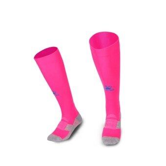 Kelme K15Z908 Men Antiskid Wearable Football Match Stockings (Pink Sea Blue)