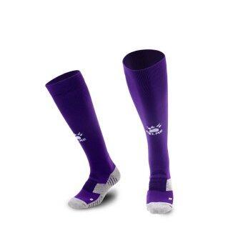 Kelme K15Z908 Men Antiskid Wearable Football Match Stockings (Purple White)