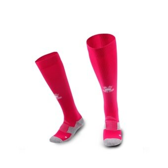 Kelme K15Z908 Men Wearable Antiskid Football Match Stockings (Rose White)