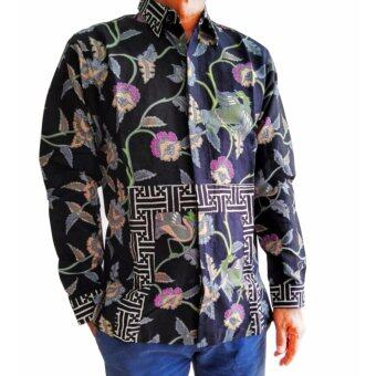 LALAKI Men's Batik Shirt Long Sleeve - 1602