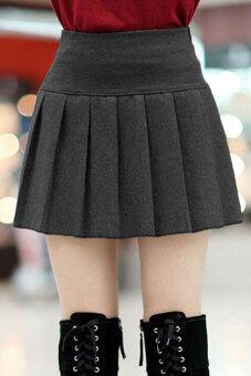 Pleated mini skirt grey – Modern skirts blog for you