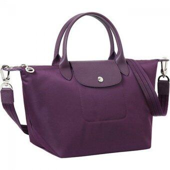 Longchamp Le Pliage Neo - Small (Bilberry)