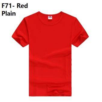 [MALAYSIA SUPPLIER,VERY FAST DELIVERY] (Size Available) (5 Color) Red Merah Unisex Plain T Shirt Male Guy Man Men Boy Cloth Tops Sports T-Shirt couple Woman Female Girl Ladies Lady tee polo baju kain perempuan gadis wanita pakaian budak lelaki