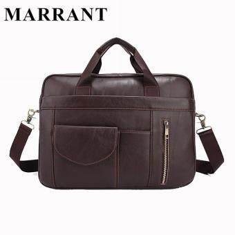 MARRANT Genuine Leather Men Bag Man Briefcase Cowhide Leather Crossbody Shoulder  Handbag Fashion Laptop Bag Men s Messenger Bags 13e70dd35cd76