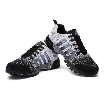 Men Fashion Sneakers Casual Running Sports Shoes(black)
