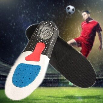 Men Gel Orthotic Sport Running Insoles Insert Shoe Pad Arch SupportCushion