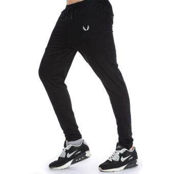 Men Pants Slim Fit Sports Gym Mens Jogging Running Trousers Pants
