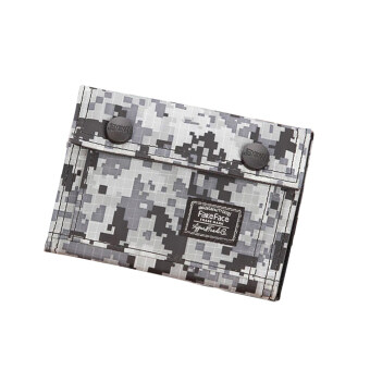 Men Teenage Boys Students Premium Oxford Camouflage Flap Wallet Tri-Fold Zip Coin Purse Money Clip Wallet Stunning Card Holder Bag-Camouflage C