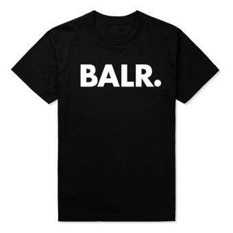New balr t shirt loose fashion T-shirt high quality(black)