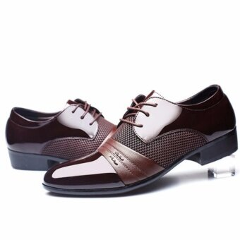 New Men's Dress Formal Oxfords Leather shoes Business Casual Shoes Dress Casual -Intl