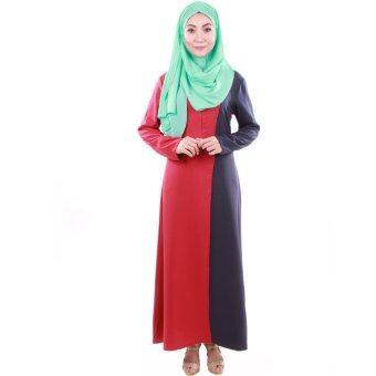 PH Fashion Haifa Jubah Dress (Maroon)