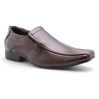 pratik gnpr5649 slip on business shoes brown lazada malaysia