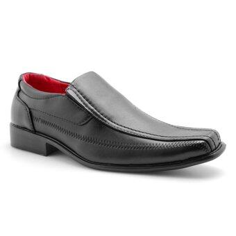pratik gnpr5652 slip on business shoes black lazada malaysia