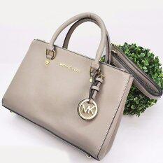 authentic michael kors outlet store rqv6  Premium Michael Kors Handle Bags Grey