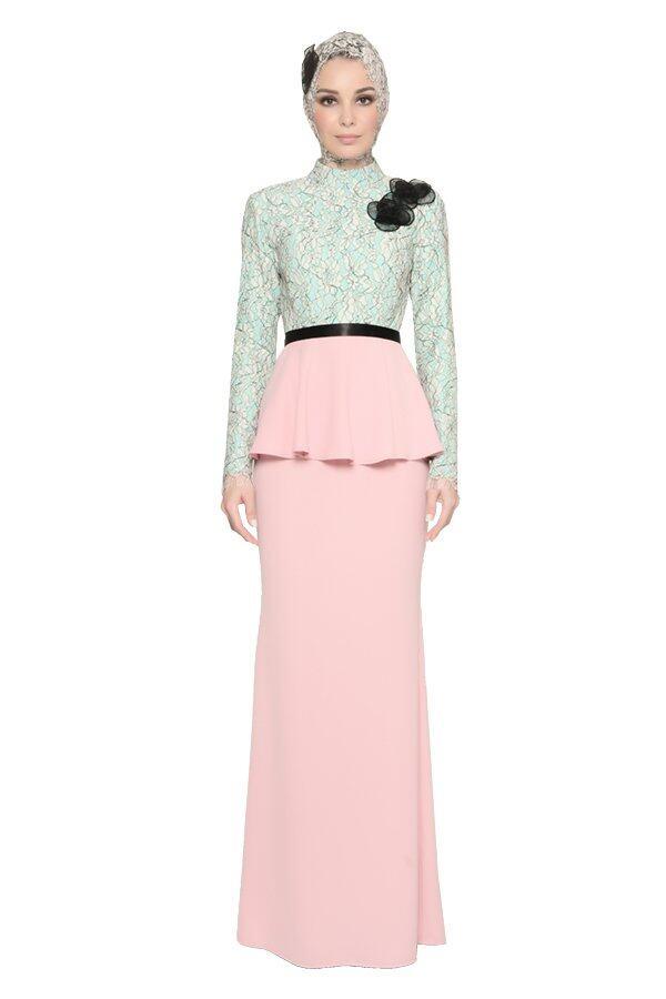 Lace Malay Wedding Dress