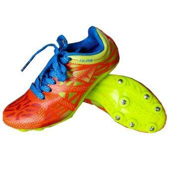 Running Track Spike Shoe (Orange) | Lazada Malaysia