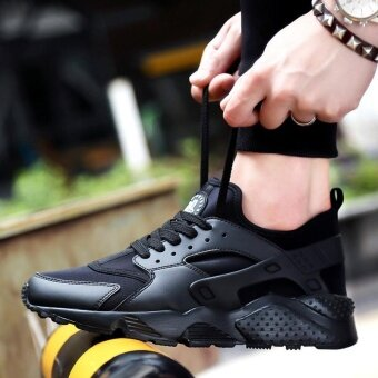 SDP New Arrival 2017 AIR ULTRA zapatos athletic outdoor sneakersMen Unisex Couples Sneakers Running Shoes (Black)