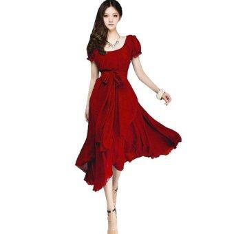 Sexy Women Dress Summer Long Dress Evening Party Dress BeachDresses Chiffon Dress