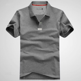 Solid color large yards to increase polo shirt
