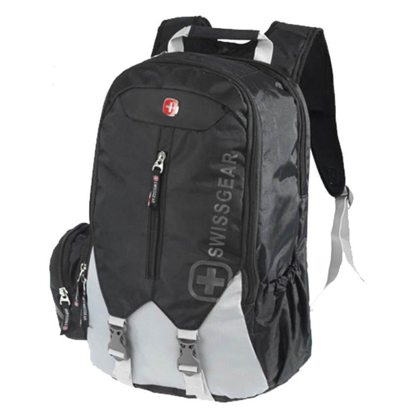 Swiss Gear SW-1658 Laptop Backpack Black | Lazada Malaysia