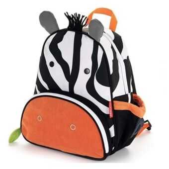 TEEMI Animal Design School Bag Preschool Backpack for Kids Children - Zebra Print