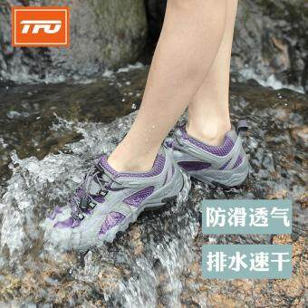 TFO Mesh Aqua Shoes Breathable Quick-Dry Anti-Slippery Water ShoeWomen Sport Summer Water Shoes in Water Beach Upstream Shoes
