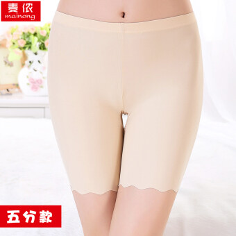 Three five viscose fibre anti-female summer pants safety shorts (Five models: Color) (Five models: Color)